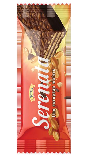 Serenata шоколадова вафла с фъстъци 38 гр. - DS Brands