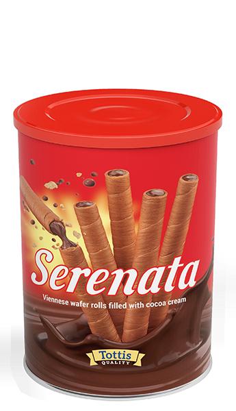 Serenata Виенски вафлени пурички 400 гр.