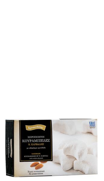 Гръцки курабии с цели бадеми 500 г - DS Brands
