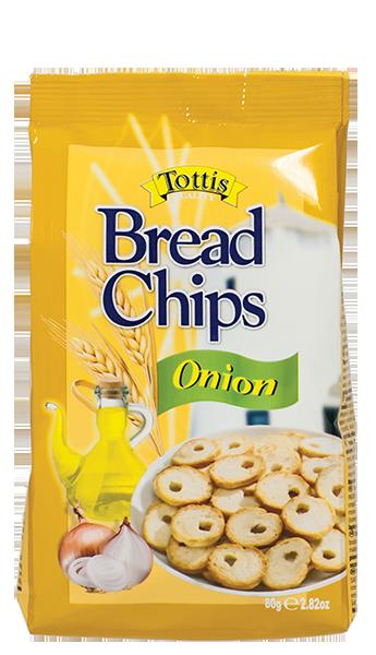 Хлебен чипс Tottis лук 80 гр.